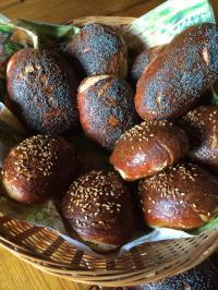 Mauricettes (pâte à bretzel)