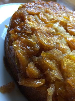 Gâteau moelleux aux mirabelles