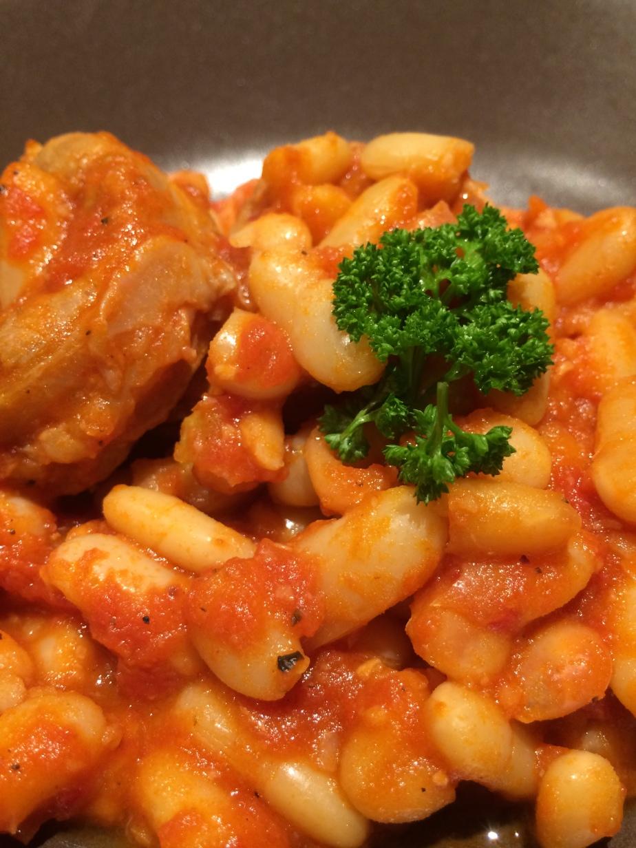 Recette kabyle de la soupe aux haricots blancs(Loubia)