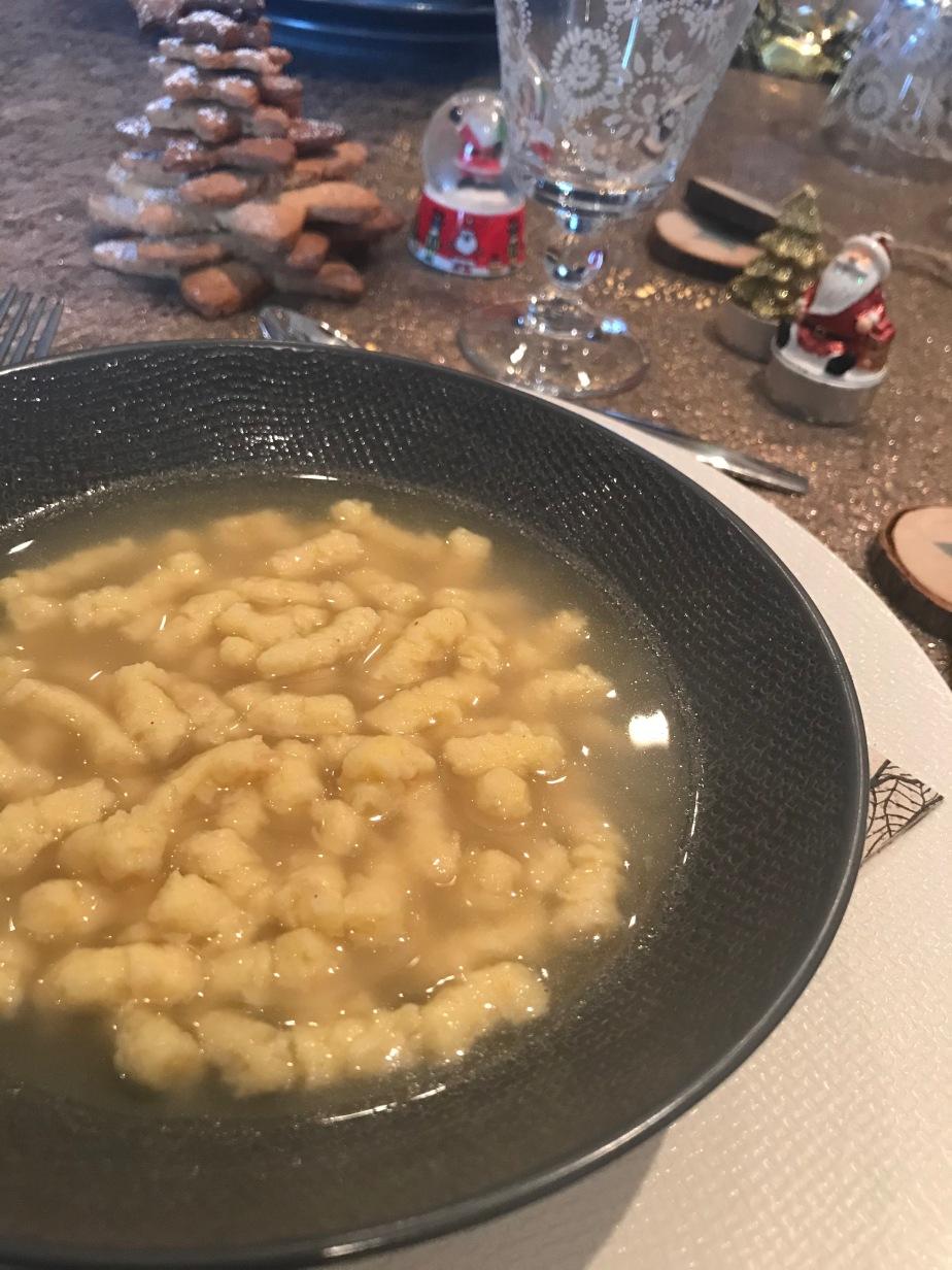Soupe de «passatine»